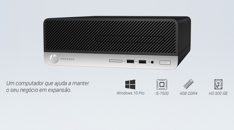 Computador HP ProDesk 400 SFF