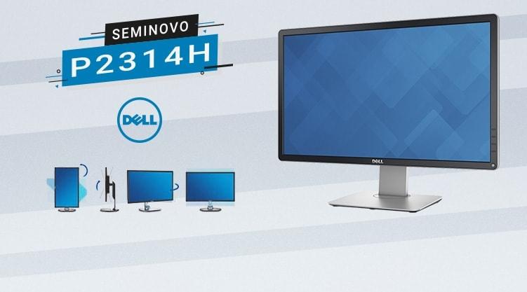 Monitor Dell P2314H Profissional