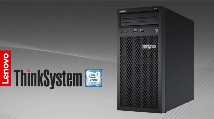 Servidor Lenovo ThinkSystem ST50