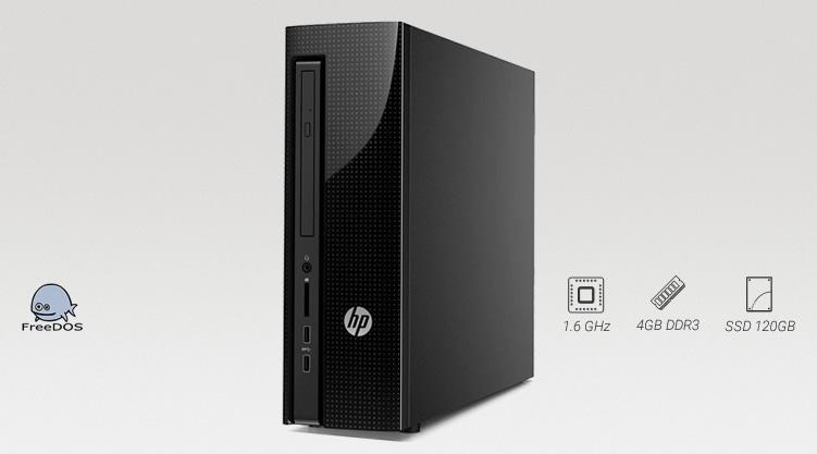 HP 200 G1 Slim Tower com SSD