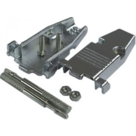 Capa metálica com parafusos de retenção - HD15 e DB9