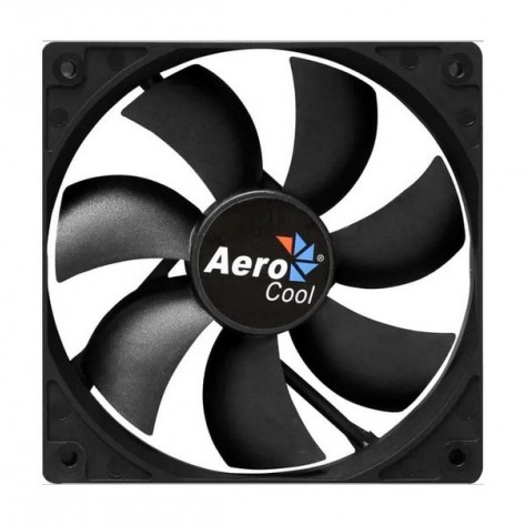 Ventilador 12x12 Aerocool Dark Force EN51332 - Preto