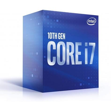 Processador Intel Core i7-10700 BX8070110700 - Comet Lake, Cache 16MB, 2.9GHz (4.8GHz Max Turbo), UHD Graphics 630 - LGA 1200