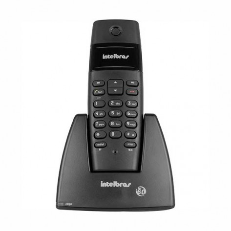 Telefone Intelbras Sem Fio TS40 - Preto DECT 6.0 Digital