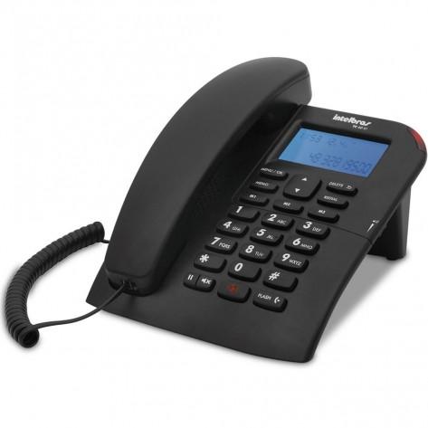 Telefone com fio Intebras TC60 ID - Identificador chamadas e Viva Voz