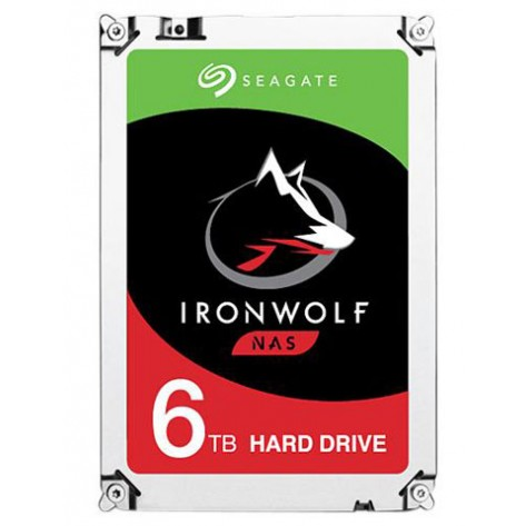 HD 6TB (6000GB) Seagate IronWolf SATA 3 - 128 MB - 7200Rpm