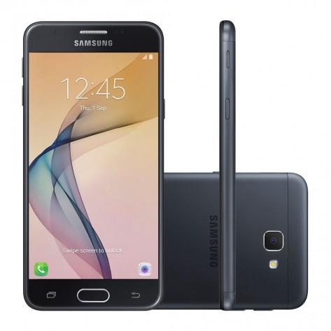"""Smartphone Samsung Galaxy J5 Prime - Tela 5.0"""" - Câmera 13MP - 32GB 4G - Desbloqueado - Preto"""