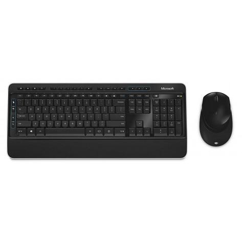 Teclado e Mouse sem fio Microsoft 3050 PP3-00005 - Wireless - ABNT2