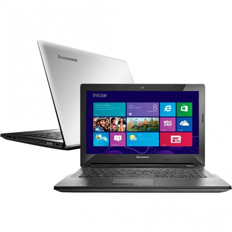 "Notebook Lenovo G40-70 - Tela 14"" - Intel Core i3-4005U 1.7 GHz - 4GB RAM 1TB HD - Windows 8.1"