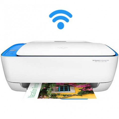 Multifuncional Jato de Tinta HP 3636 - Impressora, Copiadora, Scanner - Wireless