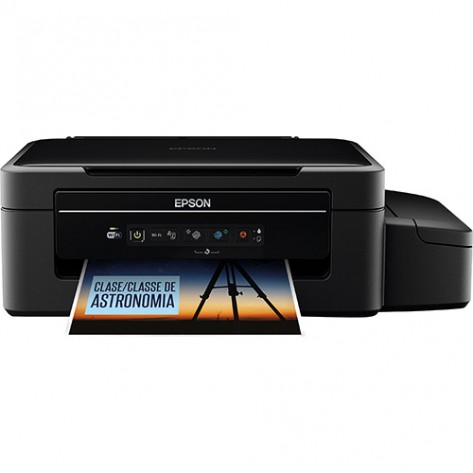 Multifuncional Epson L375 Tanque de Tinta - Impressão, digitalização e cópia - Wi-Fi