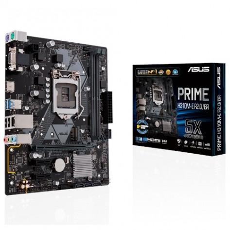 Placa Mãe Asus ASUS PRIME H310M-E R2.0/BR - Chipset H310 - (DDR4, M.2, HDMI, USB 3.1 Gen 1) - Soquete 1151