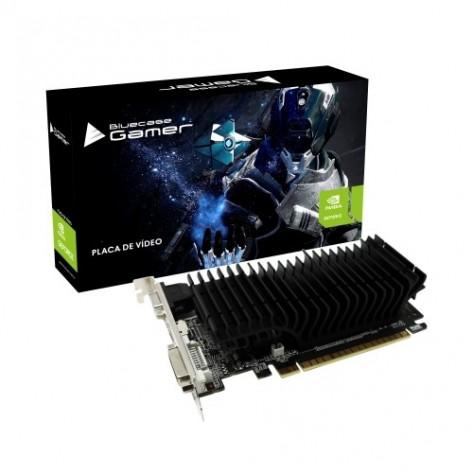 Placa de vídeo Bluecase GeForce GT 210 1GD3D1B - 1GB 64 bits DDR3 - PCI Express 2.0