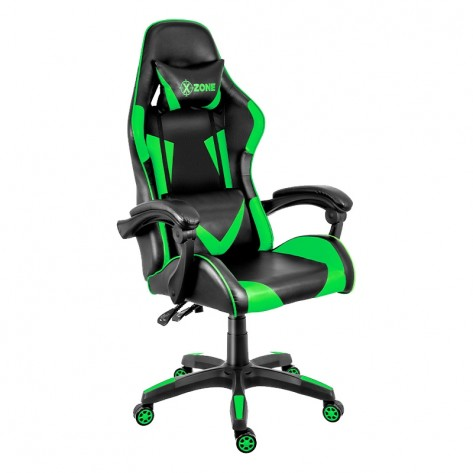 Cadeira Gamer XZONE CGR-01-GR Premium - Preto/Verde