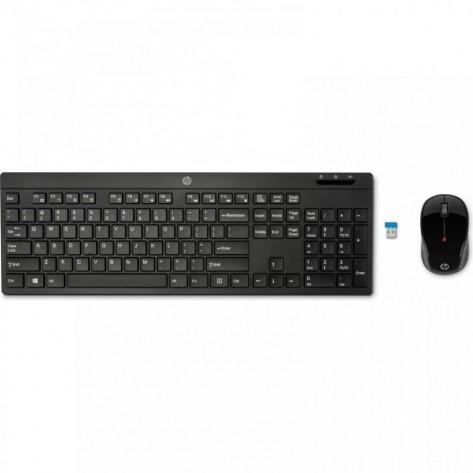 Teclado e Mouse sem fio HP C200 - Wireless - ABNT2