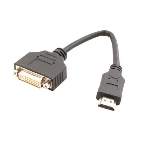 Cabo Adaptador Conversor HDMI para DVI - 20cm
