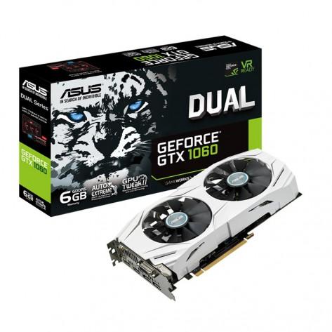 Placa de Vídeo Asus GeForce GTX1060- 6GB DDR5 192-bits - PCI Express 3.0