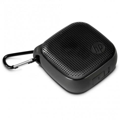 Mini caixa de som HP S300 - Bluetooth - 3W RMS - Preta