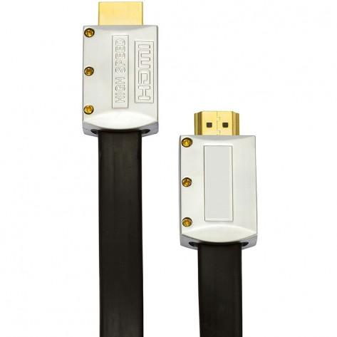Cabo HDMI FLAT Desmontável 1.4 - 4K Ultra HD 3D - 20 Metros