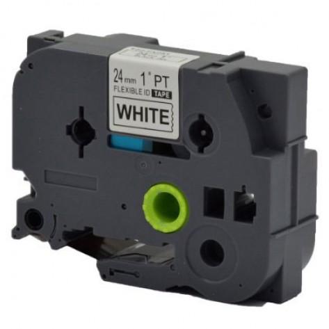 Fita para rotulador Brother AZe-FX251 - (24mm, 8m) - Flexível