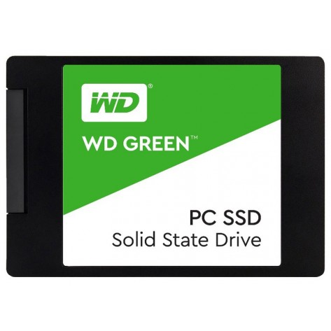 SSD 2.5'' 120GB Western Digital Green WDS120G2G0A - Leituras 540MB/s - SATA 6Gb/s