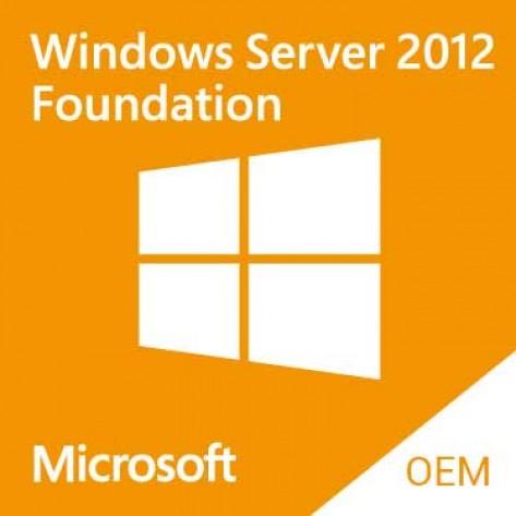Windows Server 2012 Foundation R2 ROK 748920-201 - Para servidor HP - OEM