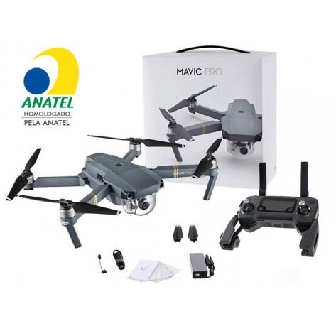 Drone DJI Mavic Pro - CP.PT.000506 - Homologado Anatel