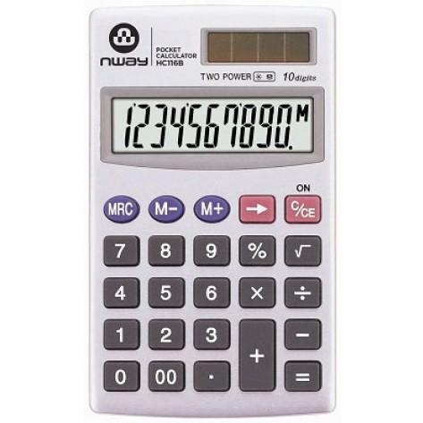 Calculadora portátil de bolso - Nway HC116B