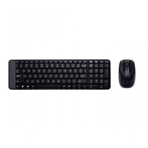 Teclado e Mouse Logitech sem fio Wireless - MK220