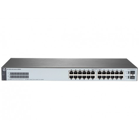 Switch HP 1820-24G J9980A 24 portas Gigabit + 2 portas SFP