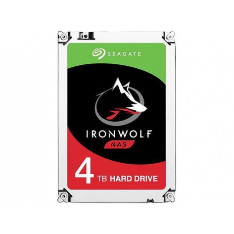 HD 3.5'' 4TB Seagate IronWolf ST4000VN008 - 5900RPM - 64MB Cache - SATA 6Gb/s