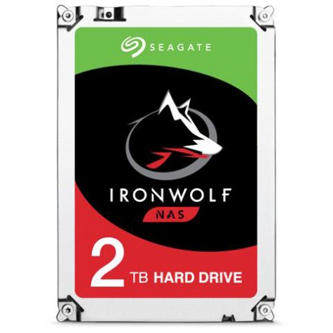 HD 2TB (2000GB) Seagate IronWolf SATA 3 - 64 MB - 5900Rpm