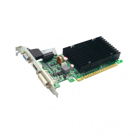 Placa de Vídeo eVGA GeForce 210 1GB 64-bit GDDR3 - PCI Express 2.0
