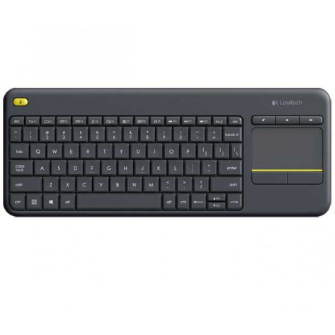 Teclado sem fio Logitech K400 Plus- Wireless - Touch