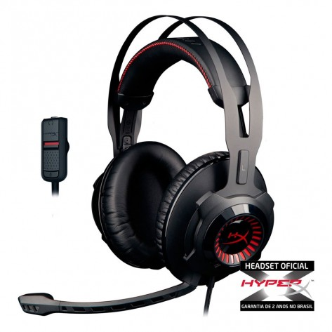 Headset Gamer HyperX Cloud Revolver™ - HX-HSCR-BK/LA