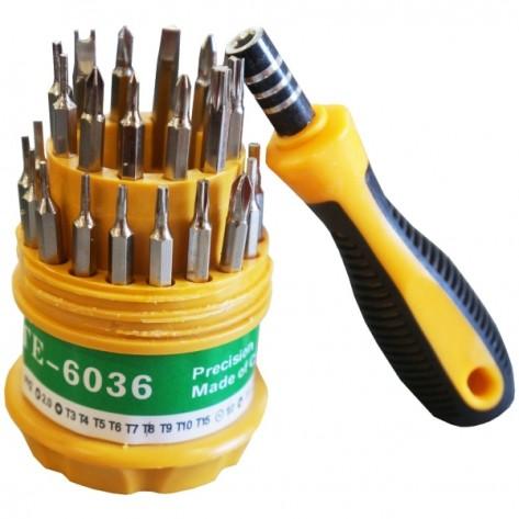 Kit de ferramentas Tewia TE-6036 - 31 peças