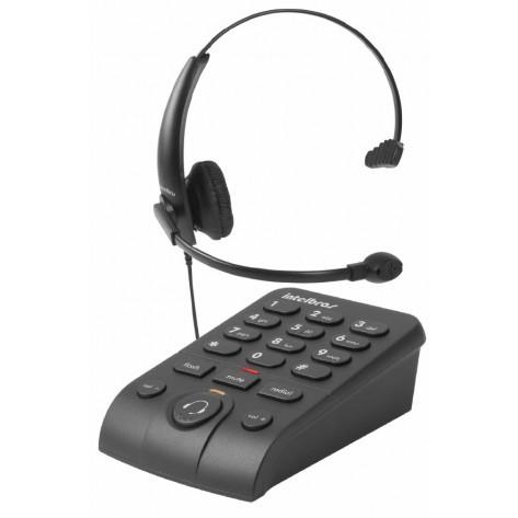 Telefone com Headset Monoauricular - Intelbras HSB 50
