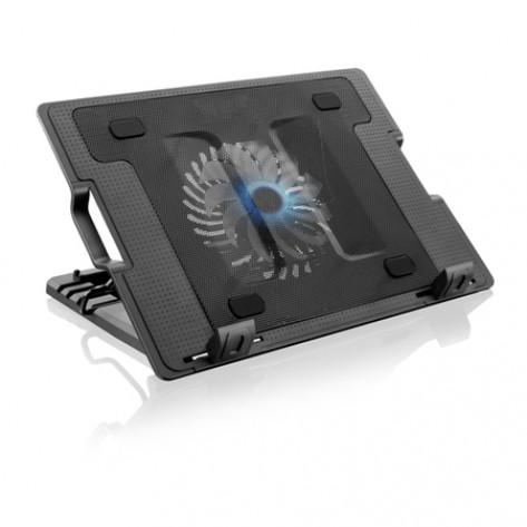 """NotePal Multilaser AC166 - p/ Notebook 9"""" a 17"""" e 4 ângulos de Inclinação"""