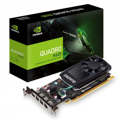 Placa de Vídeo Quadro PNY P620 - 2GB DDR5 128 bits - PCI Express 3.0 - Low Profile