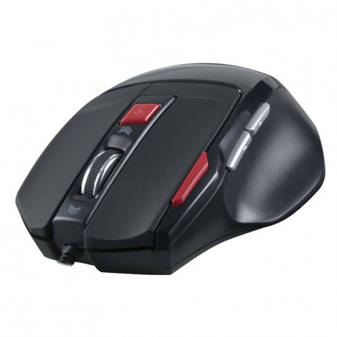Mouse Gamer Spider Fortrek Óptico - USB