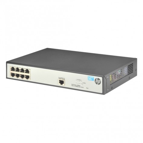 Switch HP V1620-8G JG912A - 8 Portas 10/100/1000 Mbps