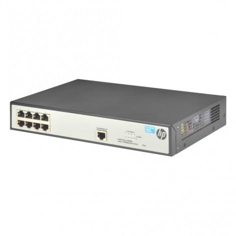 Switch HP V1620-8G JG912A - 8 Portas 10/100/1000 Mbps