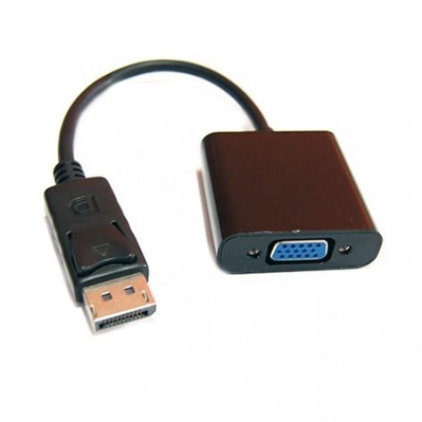 Adaptador DisplayPort macho para VGA fêmea