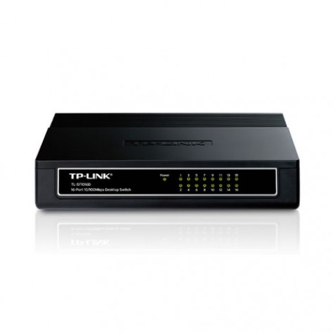 Switch TP-Link TL-SF1016D - 16 Portas 10/100 Mbps