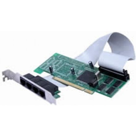 Placa PCI com 4 Seriais Inteligentes RS232
