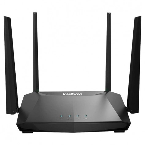 Roteador Wireless Intelbras ACtion RG 1200 Gigabit Dual Band - 300Mbps (2.4GHz) / 867Mbps (5GHz)