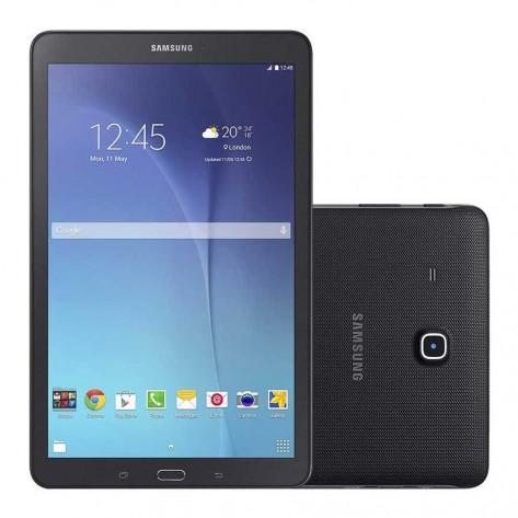 Tablet Samsung Galaxy Tab E SM-T560 - Tela 9.6'' 8GB, Processador Quad Core 1.3GHz, Câmera 5MP - Wi-Fi - Preto