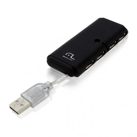 Hub USB 2.0 Multilaser AC064  - 4 portas