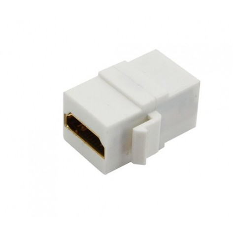 Adaptador HDMI Fêmea x HDMI Fêmea padrão Keystone