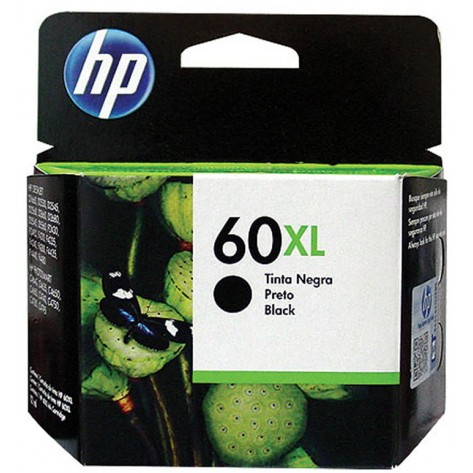 Cartucho tinta HP 60XL - Preto
